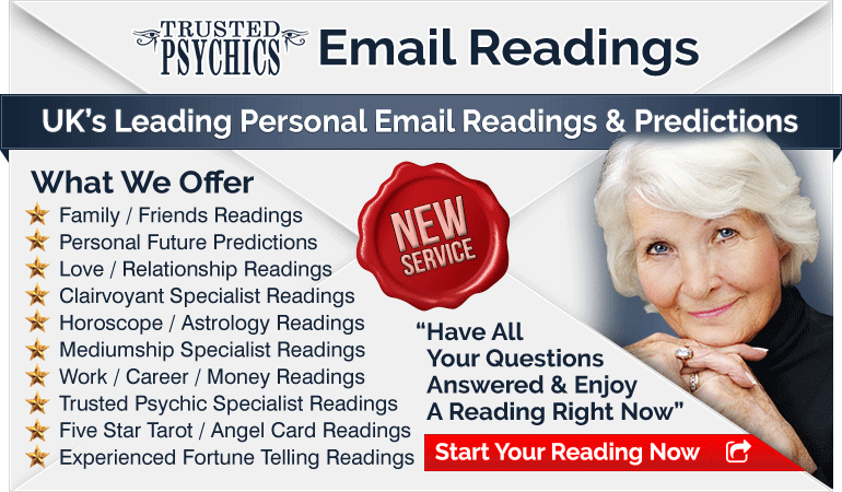 Order your email reading from Trusted Psychics today!